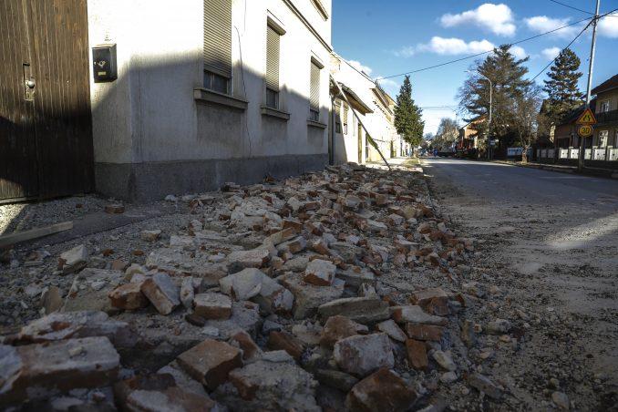 U Hrvatskoj prošle noći nekoliko zemljotresa, najjači u Zagrebu 3.1 po Rihteru 1