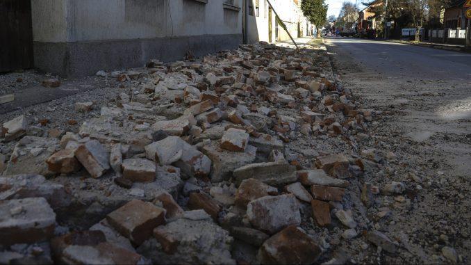 U Hrvatskoj prošle noći nekoliko zemljotresa, najjači u Zagrebu 3.1 po Rihteru 4