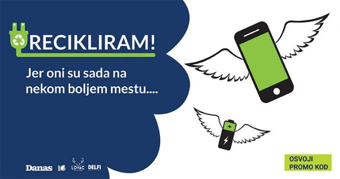 Recikliraj telefon i uštedi na PDF pretplati na Danas 14