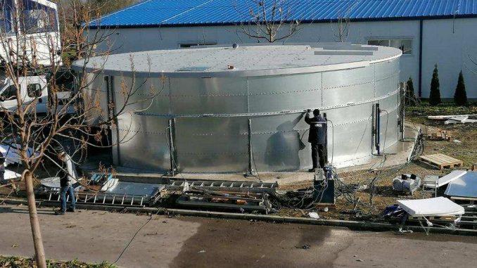 Zrenjaninska fabrika vode završava rezervoar 4