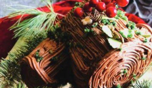 Panj torta  - Buche de Noel (recept) 9