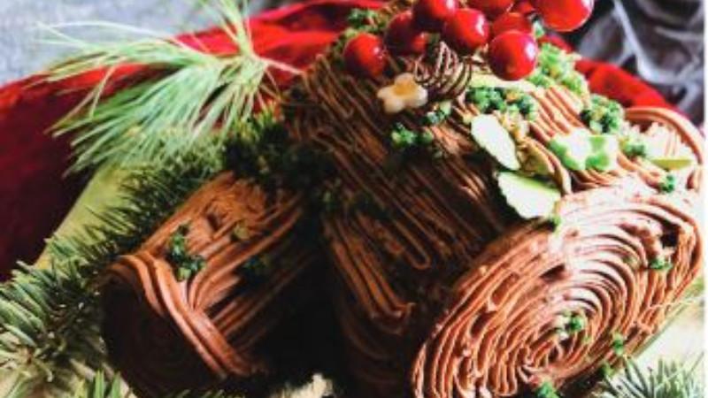 Panj torta - Buche de Noel (recept) 1