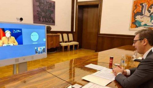 Vučić u telefonskom razgovoru sa Merkel o vakcini i razgovorima sa Prištinom 9