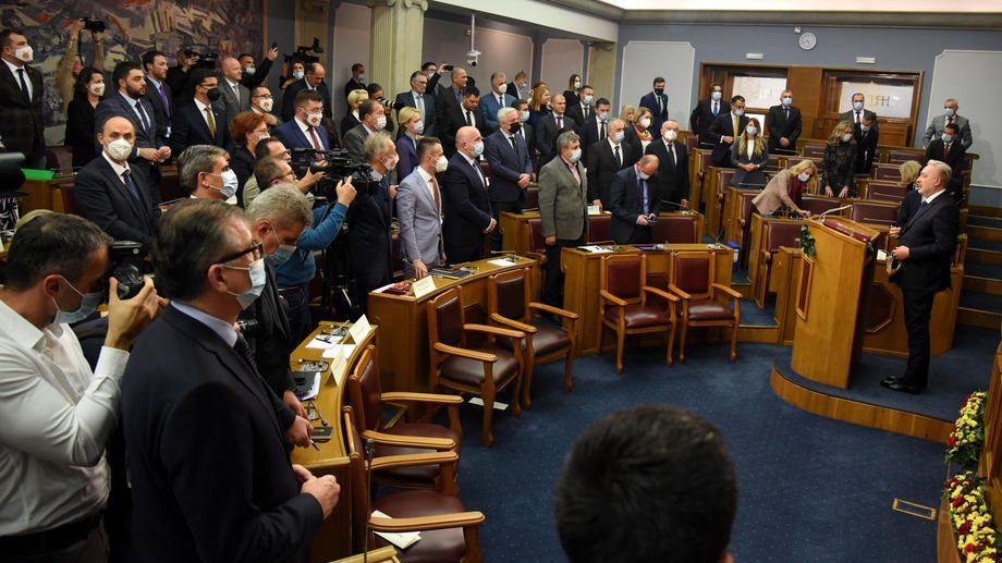 DPS napustila parlament Crne Gore 1