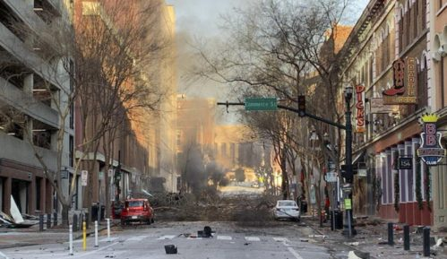 Eksplozija u Nešvilu u američkoj državi Tenesi 10
