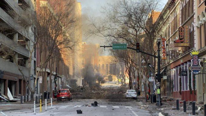 Eksplozija u Nešvilu u američkoj državi Tenesi 4