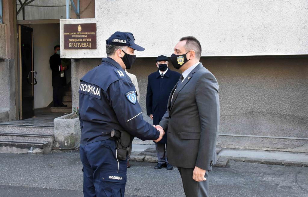 Vulin sa gradonačelnikom Kragujevca o unapređenju bezbednosti 2