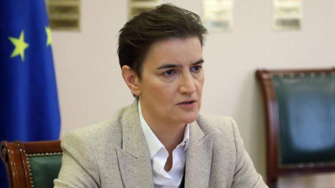 Brnabić: Srbija u svetskom vrhu po broju žena u Skupštini i Vladi 1