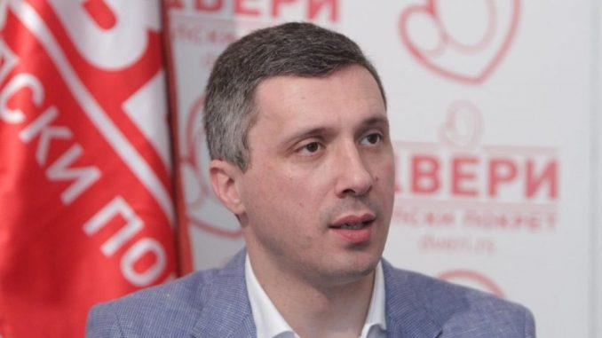 Dveri pozvale građane na porodičnu šetnju u Beogradu 3