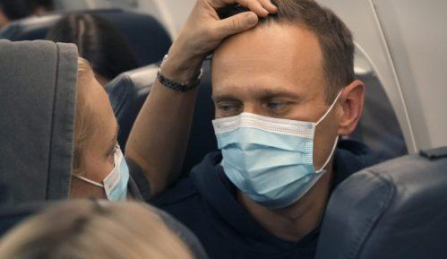 Ruska policija na aerodromu privela lidera opozicije Alekseja Navaljnog 7