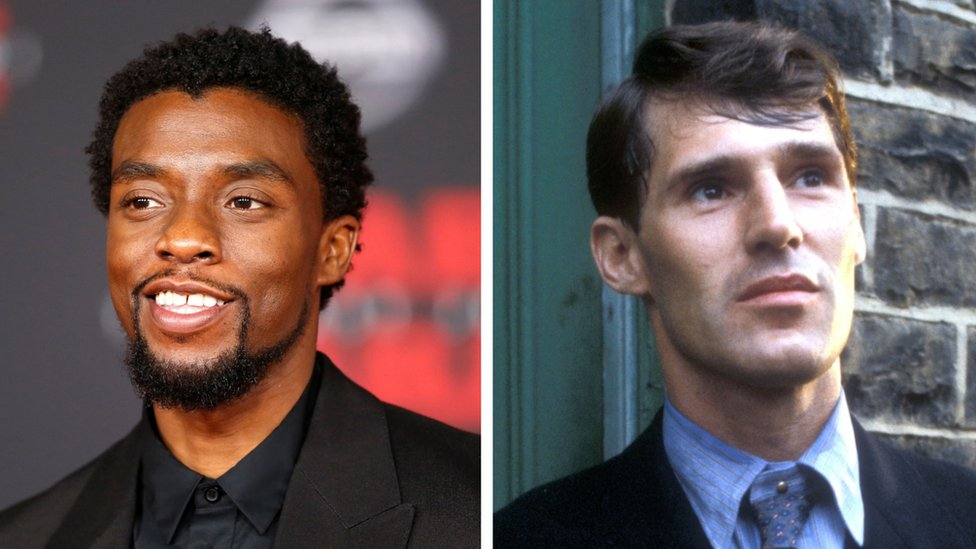 Chadwick Boseman and Ben Cross as he appeared in The Citadel