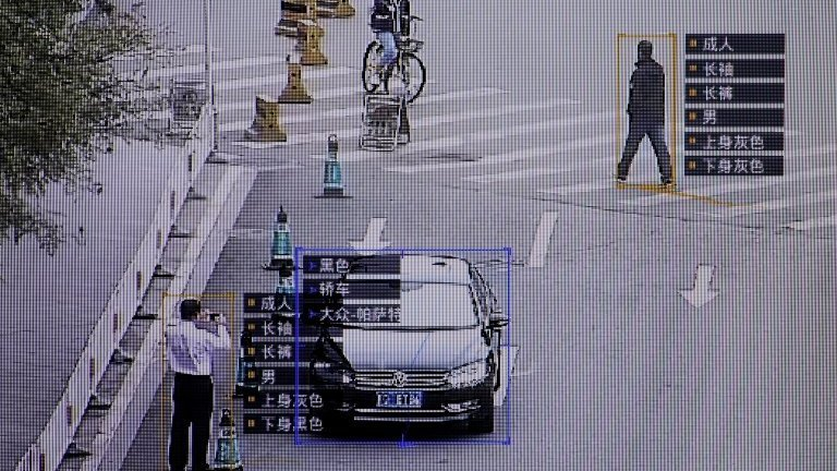 China's surveillance cameras are being used to identify personal information