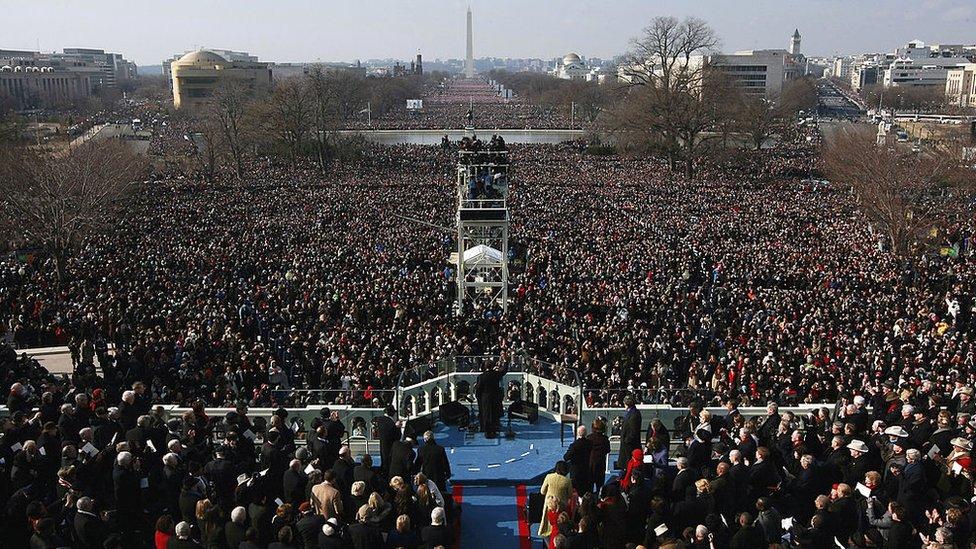 Barack Obama's 2008 inauguration