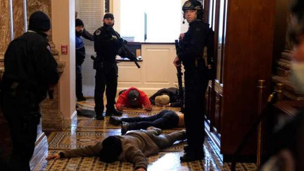 Hapšenje na Kapitolu