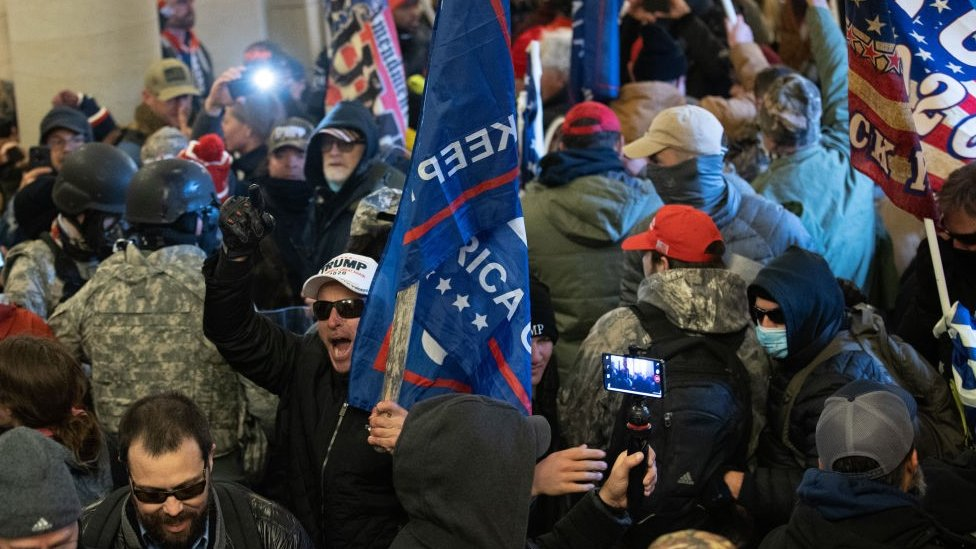 Trump supporters storm Capitol