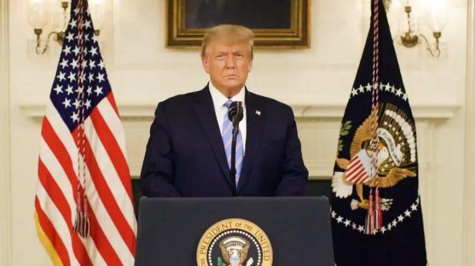 Amerika, Donald Tramp i politika: Predsednik opozvan u Predstavničkom domu 4