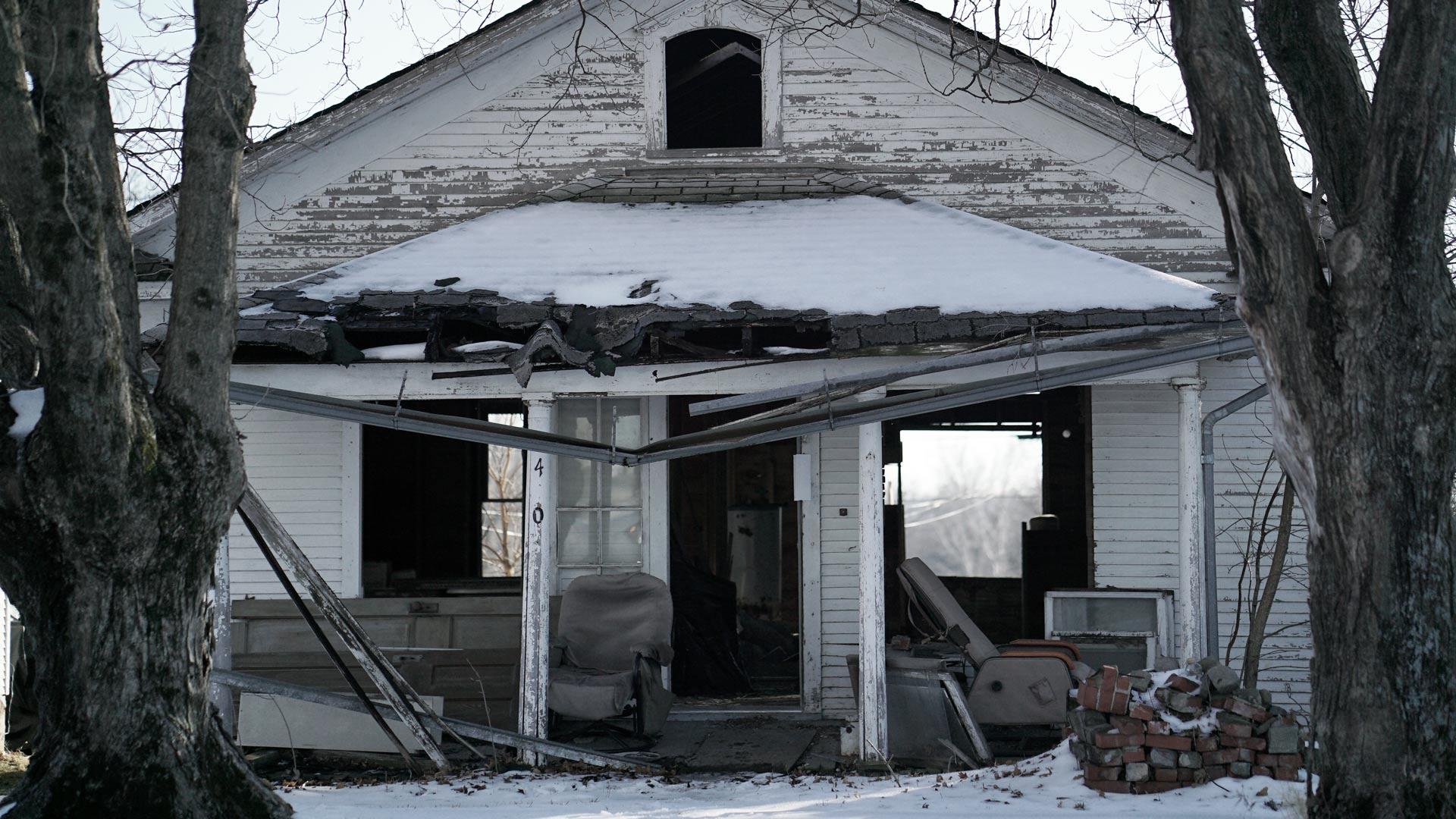 Bobbie Jo Stinnett's home lies empty today