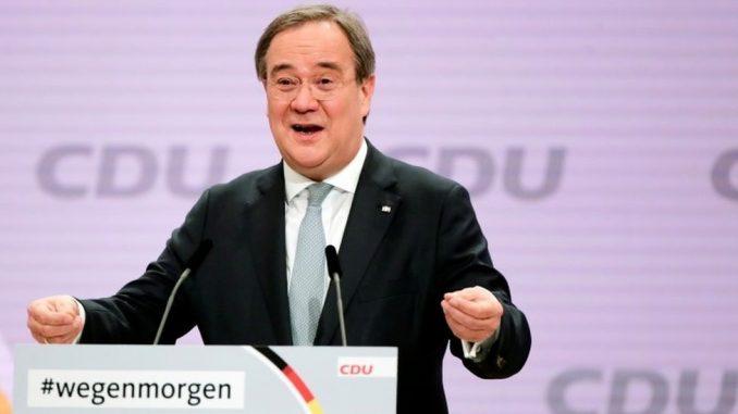 Nemačka, politika i Angela Merkel: Armin Lašet izabran za vođu CDU 2