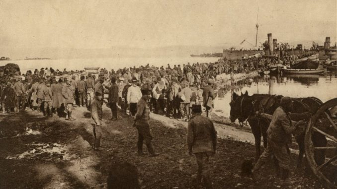Srbija, Prvi svetski rat, Albanska golgota: Kako se srpska vojska iskrcala na Krf - od snežnih vrhova do morskih talasa 8