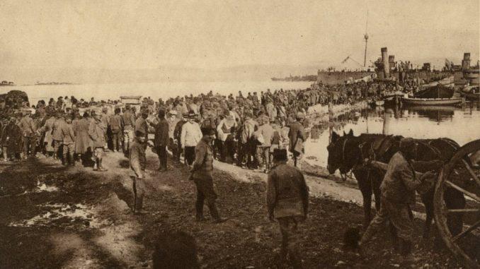 Srbija, Prvi svetski rat, Albanska golgota: Kako se srpska vojska iskrcala na Krf - od snežnih vrhova do morskih talasa 5