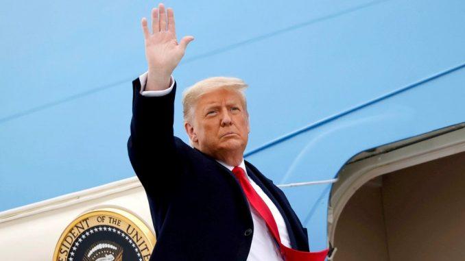 """Amerika i inauguracija predsednika: Tramp na oproštaju - """"Uradili smo ono zbog čega smo došli u Belu kuću"""" 4"""