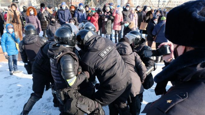 Rusija i opozicija: Privođenja, koškanja i napetosti pre protesta za Navaljnog u Moskvi 10