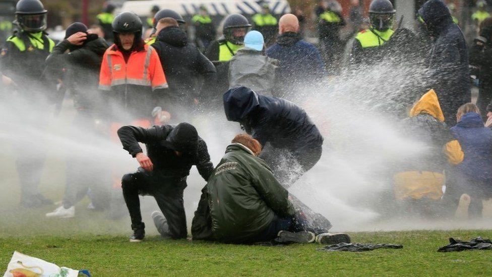 holandija protesti