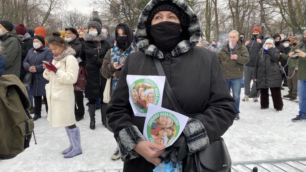 Miting v Sankt-Peterburge