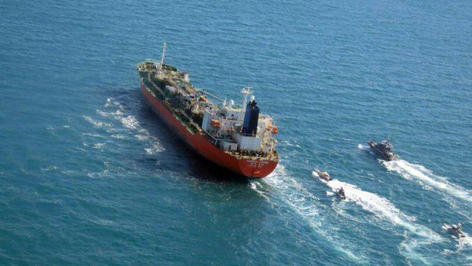 Iranci zaplenili tanker Južne Koreje 3