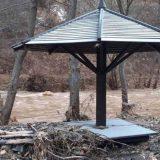 Bujica srušila most na Staroj Planini, poplavljena izletišta 8