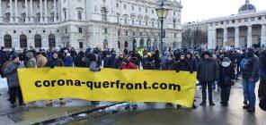 """Beč: Protestna šetnja protiv """"korona diktature"""" (FOTO) 4"""