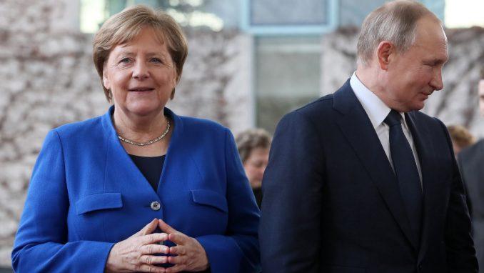 Putin, Makron i Merkel razgovarali o globalnim krizama 5