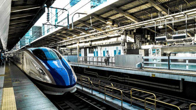 Japan: Ekiben Šinkansen - Metak voz 1