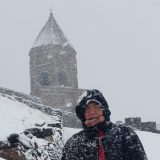 Gruzija/Kavkaz: Manastir na Kazbeku 14