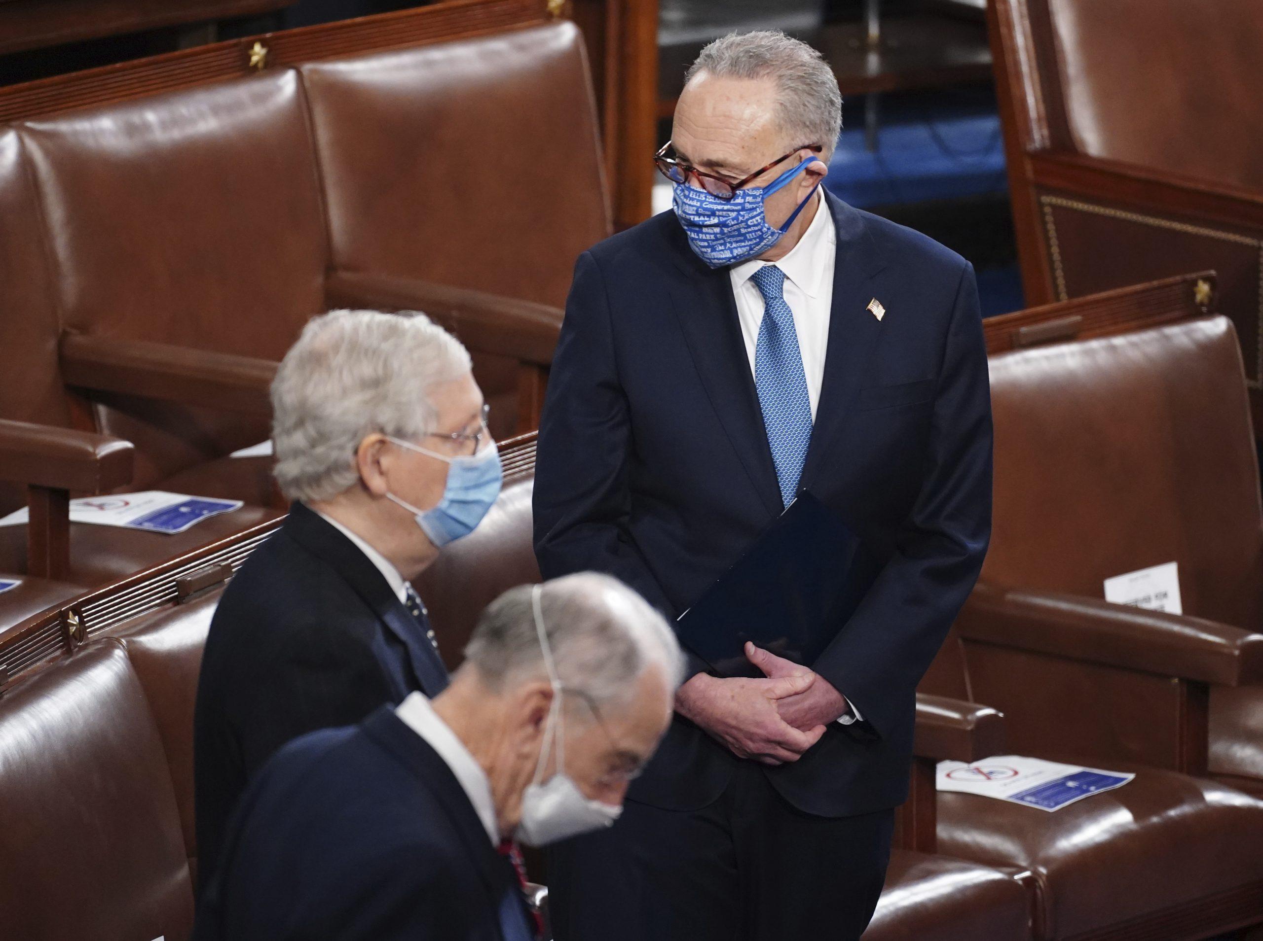 Lider demokrata u Senatu SAD pozvao Pensa da smeni Trampa 1
