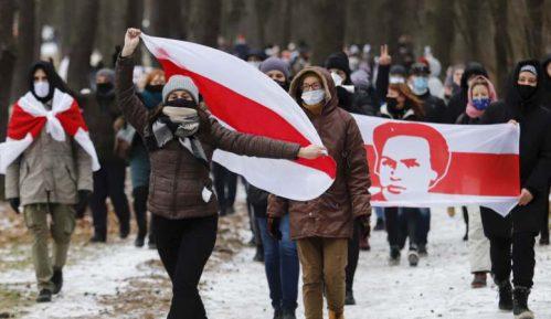 Beloruska policija uhapsila oko 100 demonstranata na prvom ovogodišnjem protestu 7