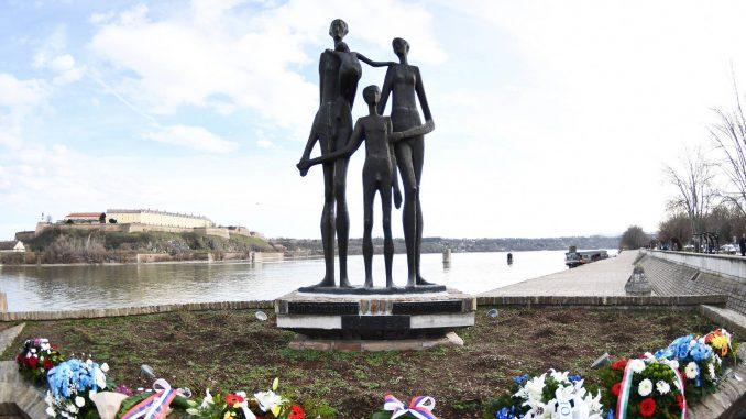 Antifašistička akcija Novog Sada odala počast žrtvama Racije i pozvala na borbu protiv fašizma 3