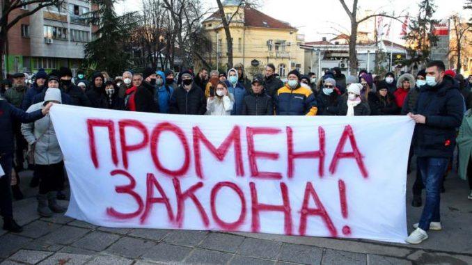 """Novi protest u Nišu: Građani pripremaju nacrt """"Andrejevog zakona"""" 3"""