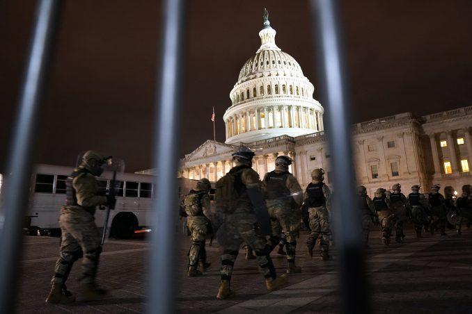 Američki Pentagon aktivirao 6.200 pripadnika Nacionalne garde za obezbeđivanje Kongresa 4