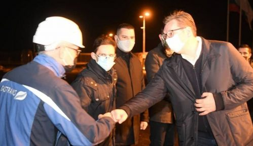 Otvoren gasovod Balkanski tok kroz Srbiju 4