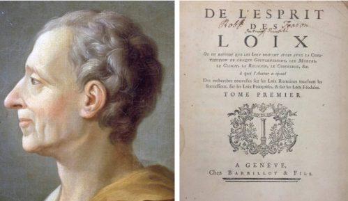 Kako Monteskjeova podela vlasti onemogućava tiraniju? 12