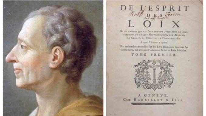 Kako Monteskjeova podela vlasti onemogućava tiraniju? 1
