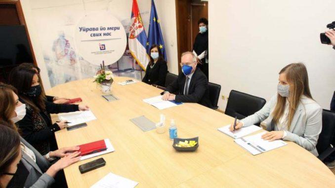 Obradović i novi šef Misije OEBS-a u Srbiji razgovarali o novim zajedničkim projektima 5