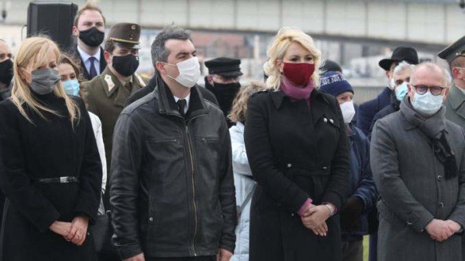 Državni zvaničnici Srbije položili vence u znak sećanja na žrtve Holokausta 4