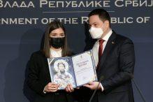 """Ružić: Dobitnici ovogodišnjeg priznanja dokaz da """"Sveti Sava živi i bitiše u svima nama"""" 5"""