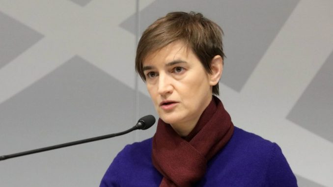 Brnabić: Viola fon Kramon otvoreno neprijateljski raspoložena prema Srbiji 1