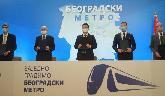 Raspisan konkurs za idejno rešenje stanica metroa 13