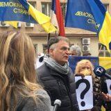 Protest demokrata ispred Ministarstva državne uprave i lokalne samouprave (FOTO/VIDEO) 18