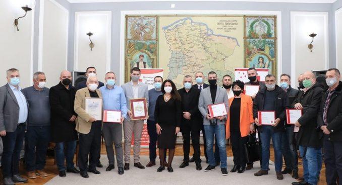 Požarevac: Dodeljena priznanja za dobrovoljno davanje krvi 5