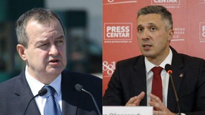 Dačić: Opozicija u konfuziji, Obradović: Nov pokušaj odlaganja dijaloga o izborima 1